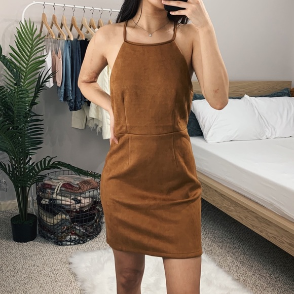 SALE 🆕 Camel Halter Dress Boutique